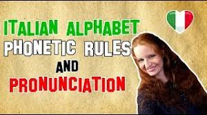 Students who take on italian as a second language are always pleased to discover that italian is for the most part a phonetic language. Italian Lesson 7 Italian Alphabet Phonetic Rules And Pronunciation Youtube
