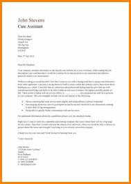 Patient Care Assistant Cover Letter 18 Cover Letter For Healthcare Assistant Waa Mood