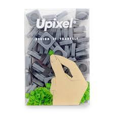 Пиксельные фишки <b>маленькие</b>, <b>Upixel</b>, 60 шт., светло-серый ...