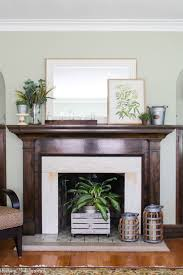 Ideas decorate Hgtv Check Out This Post To See Beautiful Summer Mantel Decorating Ideas In Shades Of Green And Average But Inspired Summer Mantel Decorating Ideas