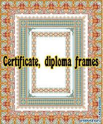 Векторный клипарт Дипломы и сетификаты  Коллекция рамок для дипломов и сертификатов в векторе frames for diplomaes and certificates