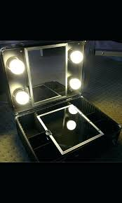 makeup train case with lights photo photo makeup train case with lights professional