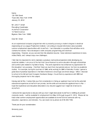 Outstanding Sample Cover Letter For Electrical Engineering Fresh