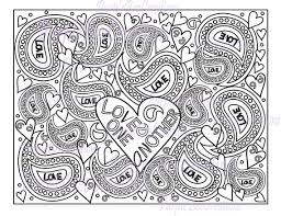 Small Picture 364 best Adult ColouringHeartsLove Zentangles images on