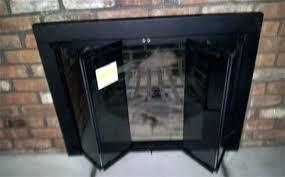 fireplace doors glass fireplace doors wonderful modern decoration replacing fireplace doors glass door with replacement designs
