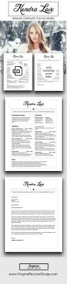 Featured Resume Templates For Microsoft Word By Original Resume