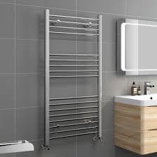 iBathUK   1200 x 600 Straight Heated Towel Rail Chrome Bathroom Radiator -  All Sizes: iBathUK: Amazon.co.uk: DIY & Tools