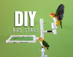 picture of diy bird stand