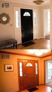 painting doors and trim diffe colors how to paint fiberglass door and oak trim painting doors and trim diffe colors