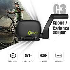 Meilan <b>C3</b> Bike <b>Speed</b>/<b>Cadence Sensor</b> BT Wasserdichte IPX5 ...