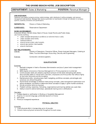 9 Hotel Sales Manager Resume Boy Friend Letters
