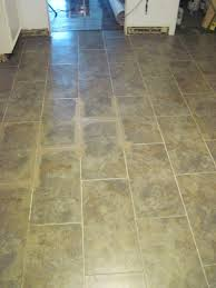 our old abode kitchen floor groutable vinyl tile grouting the tiles with earth