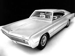 1965 Dodge Charger II Concept - Front Angle - 1024x768 Wallpaper