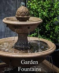 exquisite outdoor garden fountain on fountains water wall and decor