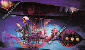 Dream Catcher Ride LOST EPCOT Imagination Journey into Imagination Pictures 69