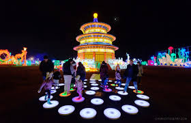 Light Up Loudoun Reviews The Spectacle Of The Lightup Fest At One Loudoun Is One You