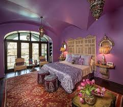 View in gallery Purple is a perfect hue of a Moroccan themed room with a  modern appeal