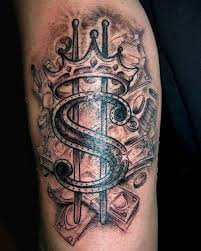 75 Best Money Tattoo Designs Meanings Get It All 2019