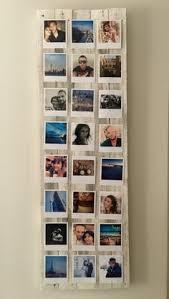 cadre photo polaroid fait avec des palettes pallet diy polaroid frame