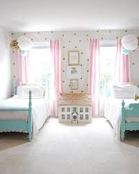 A pretty pink girl's room - Is To Me. It's so nice and chique if u want to  wake up in the morning and ur room iS glowing.