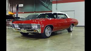 1967 Chevrolet Impala SS Convertible in Red Paint & 427 Engine ...