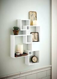 white wood wall shelves shelving solution intersecting decorative white color wall shelf set of 6 white white wood wall shelves