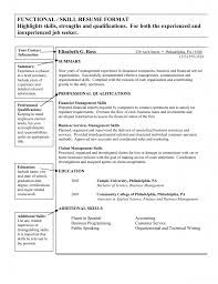 Accounting Resume Skills And Abilities 6 Down Town Ken More