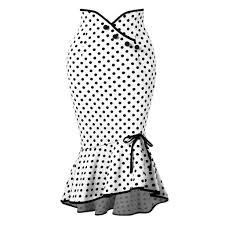 <b>Sisjuly Polka Dot</b> High Waist A-Line Bodycon Women Skirt-buy at a ...