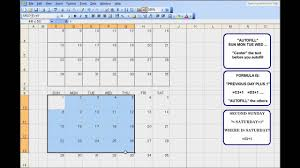 3 Month Calendar Template For Excel An Exercise To Teach Kids