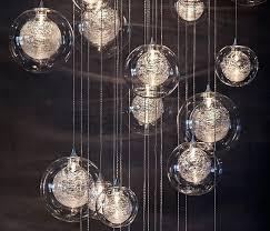 pendant light fixtures blown glass. Blown Glass Pendant Lighting For Kitchen Hand Pendants Custom Using Double Globes 0 Light Fixtures S