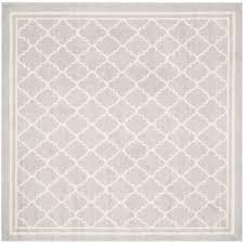 safavieh amherst light gray beige 5 ft x 5 ft indoor outdoor