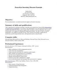 objective for secretary resume examples resume template example examples of secretary resumes