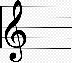 Staff Paper Treble Staff Clef Treble Manuscript Paper Musical Note Musical Note Png