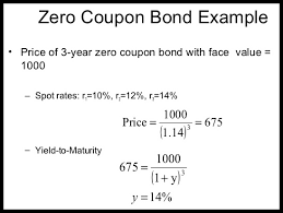 Example Of A Coupon Awesome Zero Coupon Bond COUPON