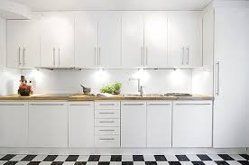 White Kitchen Modern Interior Design Kitchen White Minimalist White Kitchen Cabinet