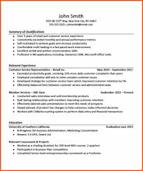How To Write A Retail Resume With No Experience Resume Online