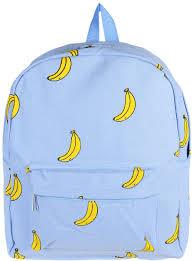 "<b>Рюкзак</b> Kawaii Factory ""Bananas"", цвет: голубой. KW102-000028 ..."