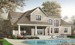 Hillside House Plans With A View  LuxamccorgView House Plans