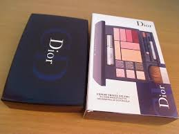 limited edition dior travel studio makeup palette collection voyage makeup palette has high impact maa 4 colour dior expert travel studio