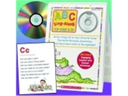 Scholastic Abc Sing Along Flip Chart With Cd Newegg Com