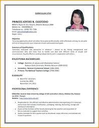 Sample Resume For Part Time Jobs Vitadance Me