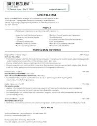 Resume For Maintenance Gorgeous Resume For Maintenance Technician Innazous Innazous