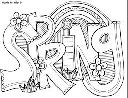 Free potted plants coloring page. 13 Places To Find Free Printable Spring Coloring Pages