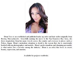 makeup artist biography exles gallery of bio template resume sles prinl