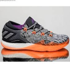 adidas basketball shoes 2016. adidas crazylight boost 2016 low men basketball shoes new grey orange bb8384