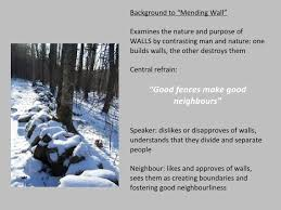 wall essay analysis of mending wall by robert frost essays