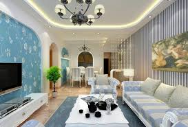 Lovely Living Rooms With Striped Walls 7 Living Room Interior