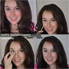 nars radiant creamy concealer before after swatches stephanie fusco leopard is a