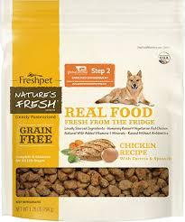 nature s fresh grain free en dog food package