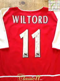 Yeah, i think that pretty much every person who follows arsenal had an idea he'd end up in the #11 shirt. 2002 03 Arsenal Home Football Shirt Wiltord 11 Vintage Soccer Jersey Classic Football Shirts